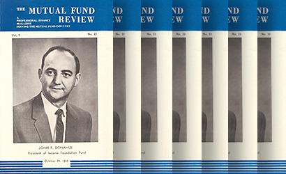 Various mutual fund reviews
